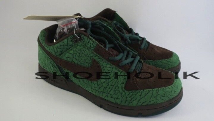 Nike Zoom Air Angus Doernbecher Classic Green Brown - Size 9.5