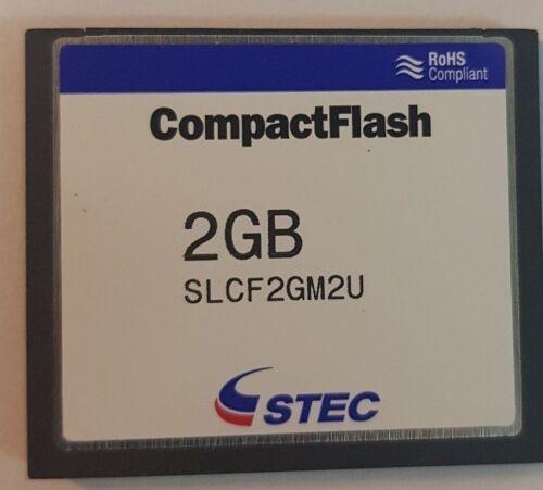 new compact flash card 2GB stec SLCF2GM2U