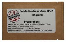 Dehydrated Potato Dextrose Agar Powder Pda 10 Grams