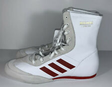 NEW Adidas Box Hog x Special Boxing Shoes Cloud White//Red AC7148 Size 12