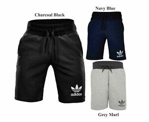 ADIDAS-ORIGINALS-SPORT-ESS-Mens-Fleece-Shorts-Trefoil-Summer-Casual-Bermuda