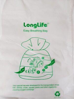 Fish Transport 10.5cm x 28cm Kordon Breathing Bag Substitute