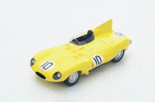 Spark S4388 -  Jaguar D-Type n 10 3eme Le Mans 1955 J. Claes - J. Swaters  1/43