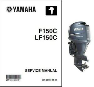 Yamaha F150 Lf150 Outboard Motor Service Repair Owner 39 S