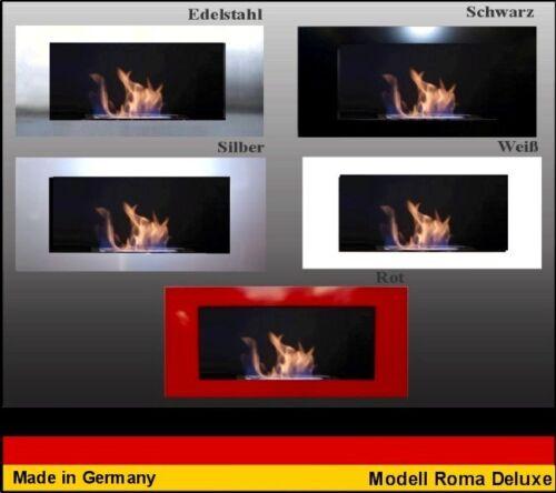 Choisissez la Couleur Gel et Cheminée Ethanol  Fireplace Camino Roma Deluxe