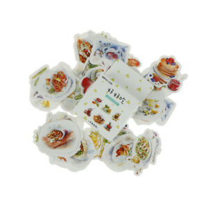 46XDelicious-Food-Paper-Sealing-Stickers-Scrapbooking-DIY-Diary-Album-Labels