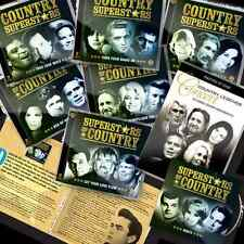 Superstars Of Country 12 CD +Bonus CD +Free 2 DVD + Bonus Booklet Deluxe Edition