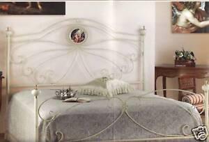 Letti Imbottiti Matrimoniali Classici.Letto Ferro Camera Letti Battuto Matrimoniale Singolo Camere Classico