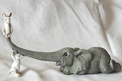 elefant,18x9,5cm,maus,mäuse,elephant,mouse,spaßig,frech,figur,tierfigur,