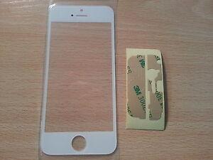 Cristal-de-Pantalla-Digitalizador-Blanco-para-Apple-Iphone-5-5G-5S-5C-Adhesivo