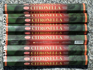 Hem-CITRONELLA-Incense-20-40-60-80-100-120-Sticks-Pick-Amount-Mosquito-Bug