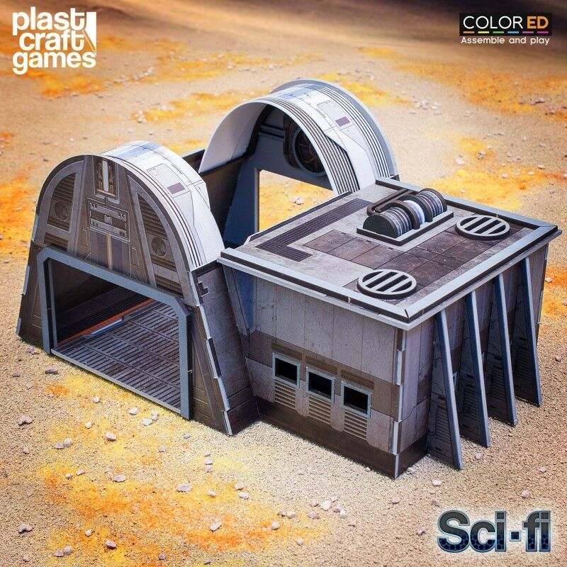 Plast Craft Juegos Colorojo Continuum Hangar Bay Sci-Fi Infinity box new