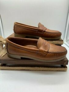 Dexter women's Brown Leather Penny Loafers size 7 gently ...