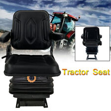 Lawn Garden Slidable Tractor Seat Riding Mower Seat Suspension Seat With Armrest