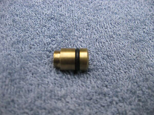 Vintage-Crosman-760-or-130-brass-valve-cap-with-new-quad-seal-and-o-ring-nos
