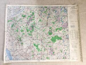 Carte Militaire Allemande Ww2.Details Sur 1943 Ww2 Militaire Carte De Europe Allemand Neumunster Allemagne Original War