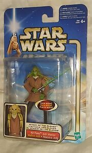 KIT-FISTO-JEDI-MASTER-Force-Action-Figure-Star-Wars-Attack-of-The-Clones-NEW