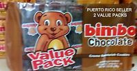 Puerto Rico Bimbo Chocolate Cream Sandwich Cookies Galletas Candy Sweets Snacka2