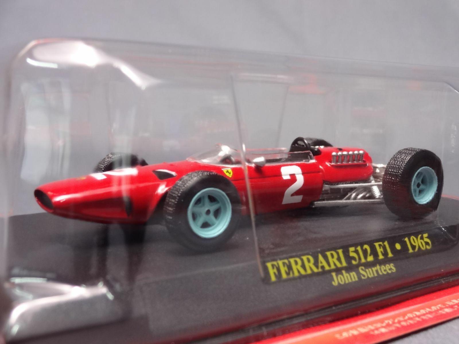 Ferrari Collection F1 512 1965 John échelle 1 43 Mini Voiture Affichage Diecast 39