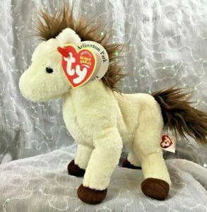 Ty Beanie Baby MARSHALL Horse *RARE* ARLINGTON PARK RACE TRACK EXCLUSIVE NWT