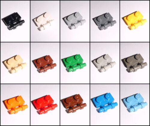 AUSWAHL Farbe /& Menge wählbar Lego Platten 1x2 mit Halterung 2540