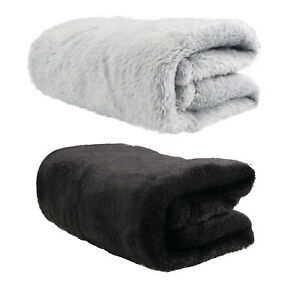 Home-Hotel-Camping-Quality-Flannel-Throws-Fleece-Blanket-Sofa-Bed-Soft-Double