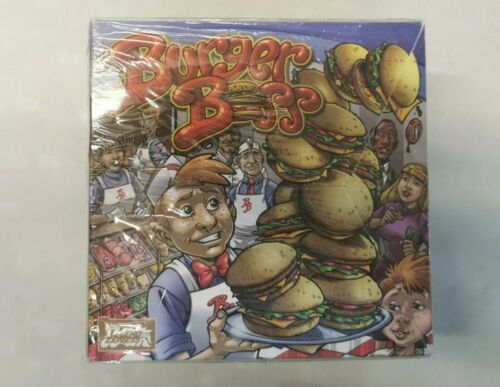 Brand New and Sealed Burger Boss Board Game Legend Express
