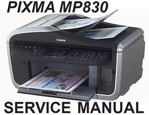 Canon PIXMA MP830 Printer MP Driver for PC
