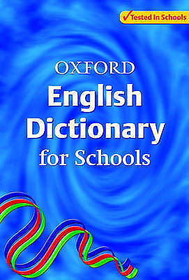 Oxford English Dictionary for Schools by Oxford University Press (Paperback, 20…