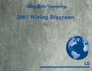 2001 Lincoln LS Electrical Wiring Diagrams Schematics | eBay