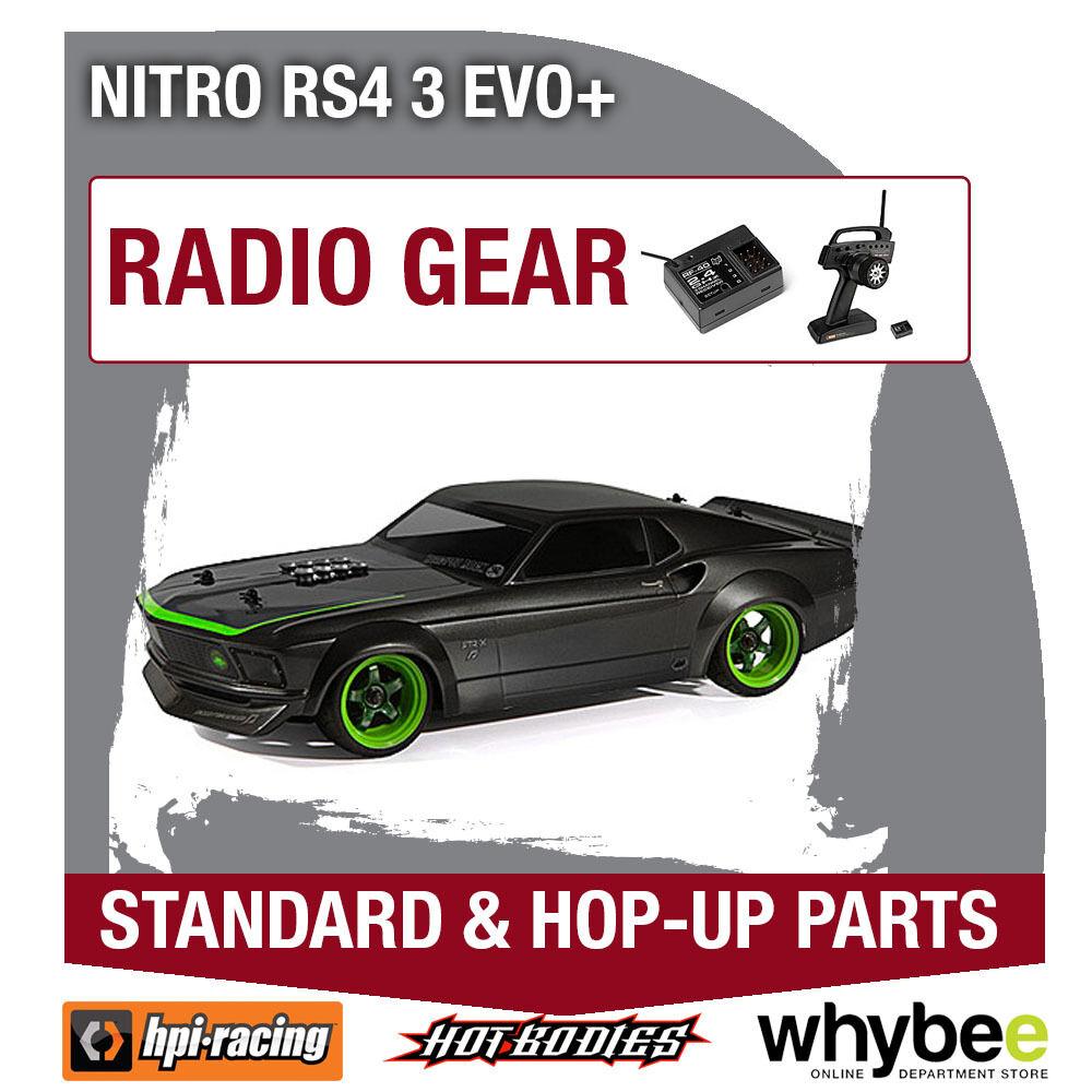 HPI NITRO RS4 3 EVO+ [Radio Gear] Genuine HPi Racing R C Parts