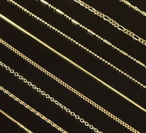 18-034-Gold-Filled-Chain-Womens-Fancy-Necklace-Bar-Ball-Singapore-4-Styles-Mens