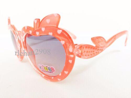 N58 Kids//Children Apple Shape Plastic Sunglasses