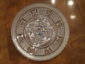 ABP-AMERICAN-BRILLIANT-PERIOD-CUT-CRYSTAL-STAR-Button-10-034-PLATTER-1890-Gorgeous