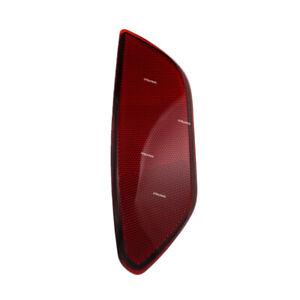 Rear Bumper Trim Reflector Red LH Left Side Fits Porsche Cayenne 2011 to 2014
