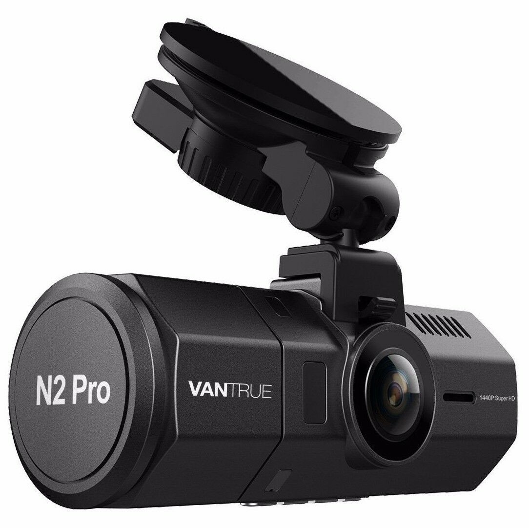s-l1600 Vantrue N2 Pro Front & Back Wide Angle Dual Dash Cam Dashboard Camera ✔NEW✔