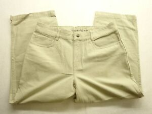 New-North-Face-Womens-A5-Series-Active-Capri-Khaki-Button-and-Zip-Fly-Sz-10