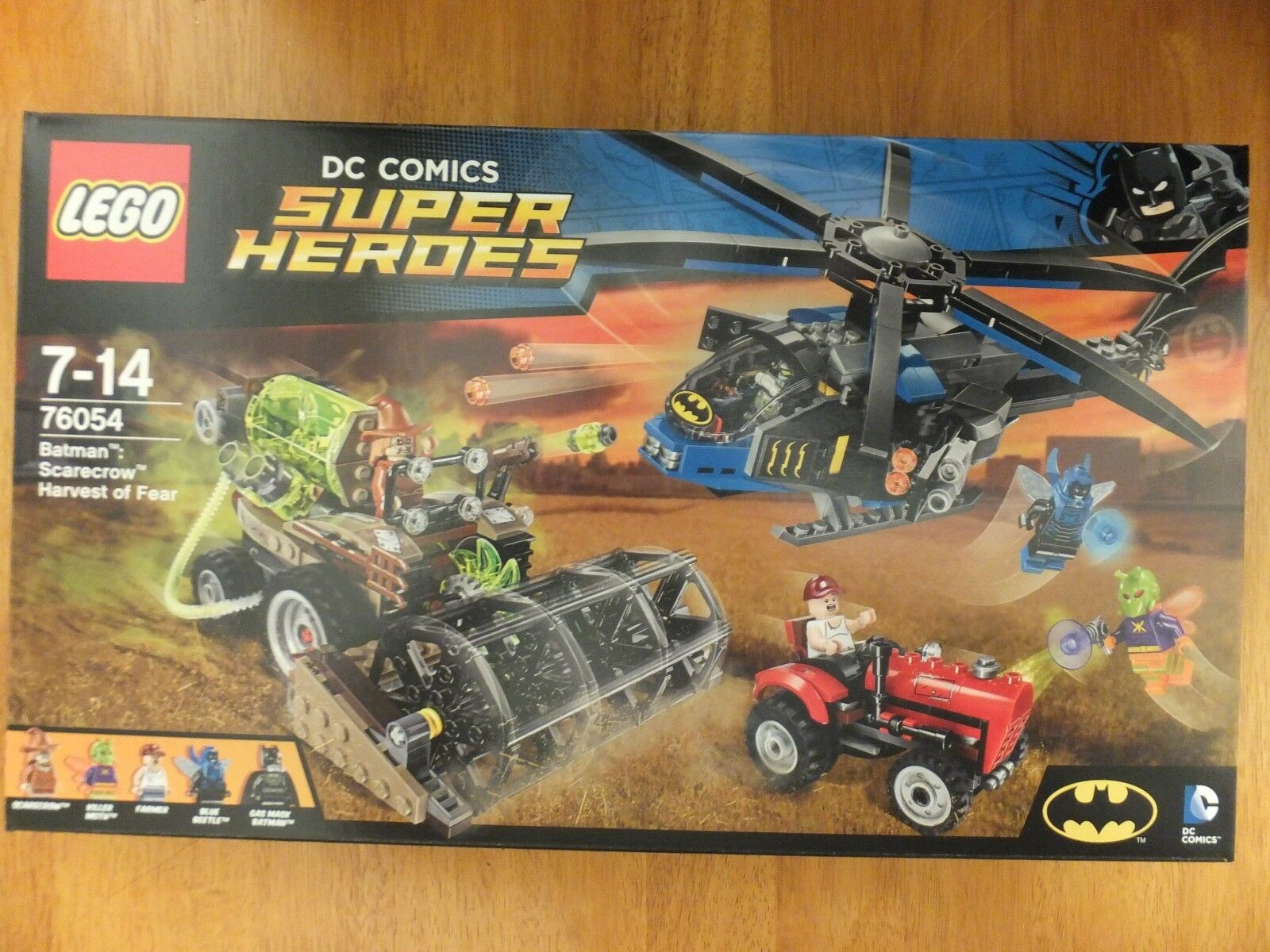 Lego 76054 DC Comics Super Heroes Batman Scarecrow Harvest Of Fear Set