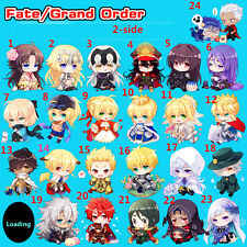 Fate Grand Order FGO Miyamoto Musashi Ereshkigal Merlin Acrylic Keychain Keyring