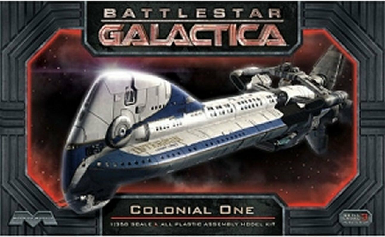 Battlestar Galactica Reboot Colonial One Model Kit Moebius 1.350 Scale