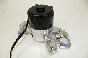 Big Block Ford 429 460 Electric High Volume Water Pump Billet Aluminum Black/pol