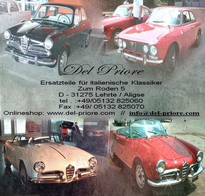 Armaturenbrett Holzfurnier unten  Alfa Giulia Bj.1962-1978