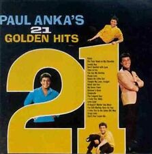Paul Anka CD..21 Golden Hits ..GREATEST..THE BEST OF