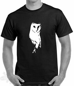 BARN-OWL-BIRD-OF-PREY-WILDLIFE-T-SHIRT-COUNTRYSIDE-S-5XL