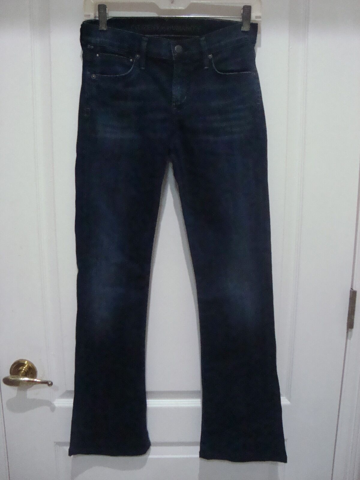 NEW CITIZENS OF HUMANITY BOOT CUT LOW RISE WOMEN'S DENIM JEANS SIZE 25