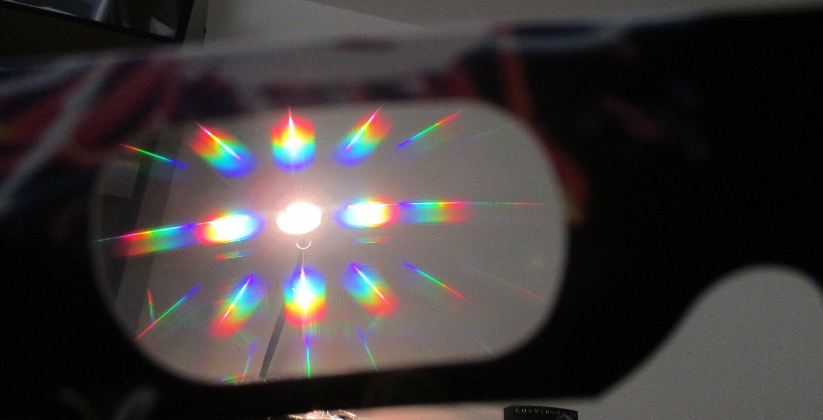 Fireworks Glasses - 100 Pair - Rainbow Spectrum Spectrum Spectrum Diffraction Glasses 64058f