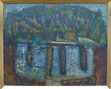 Torsten Hult * 1922 Mölle Nicholas kullaberg Svezia/Abstract PAESAGGIO