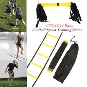 Nylon-Straps-Agility-Ladder-Soccer-Football-Speed-Training-Stairs-Equipment-Tool