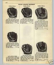 1952 PAPER AD Wilson 2 Finger Luke Appling Baseball Glove Peanuts Lowrey H Sauer