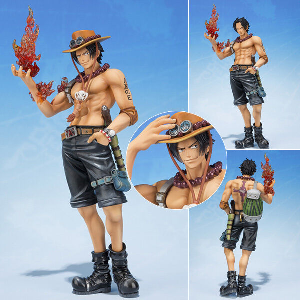 Collections Anime Figure Toy One Piece Portgas D Ace Figurine Statues 15cm